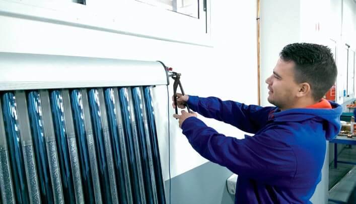 Prácticas instalaciones térmicas en el Centro Técnico de Sant Esteve Sesrovires