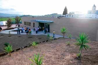 Entrada principal del Centre Técnic de la Fundació Privada Jaume Balmes a Sant Esteve Sesrovires