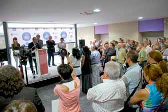 Acte d'inauguració del Centre de Tecnificació Fundació Privada Jaume Balmes