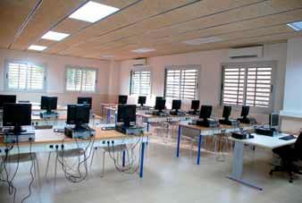 Aula d'informàtica del Centre Tècnic Fundació Privada Jaume Balmes
