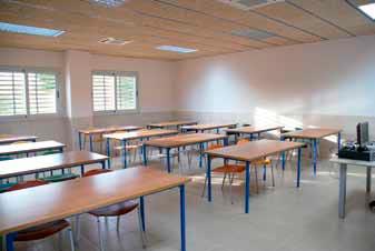 Aula de formació del Centre Tècnic Fundació Jaume Balmes