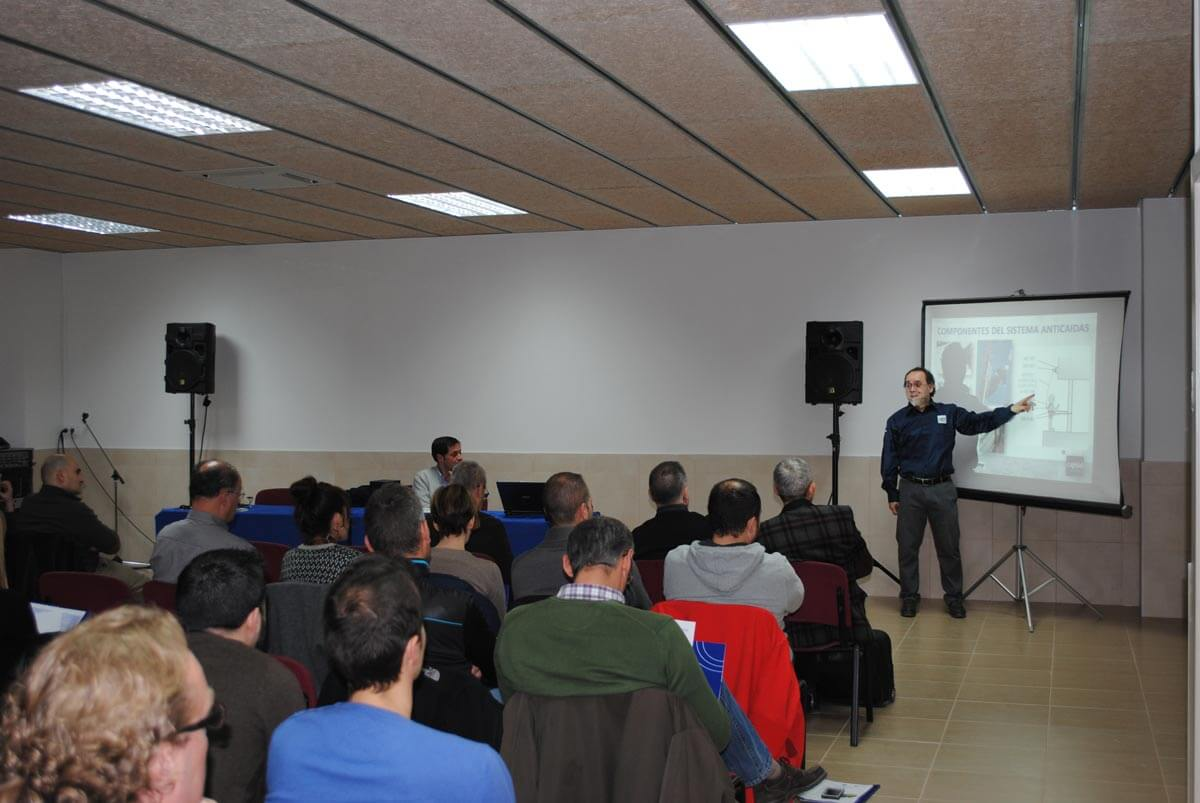 Salón para la impartación de clases en el Centro Técnico de Sant Esteve Sesrovires