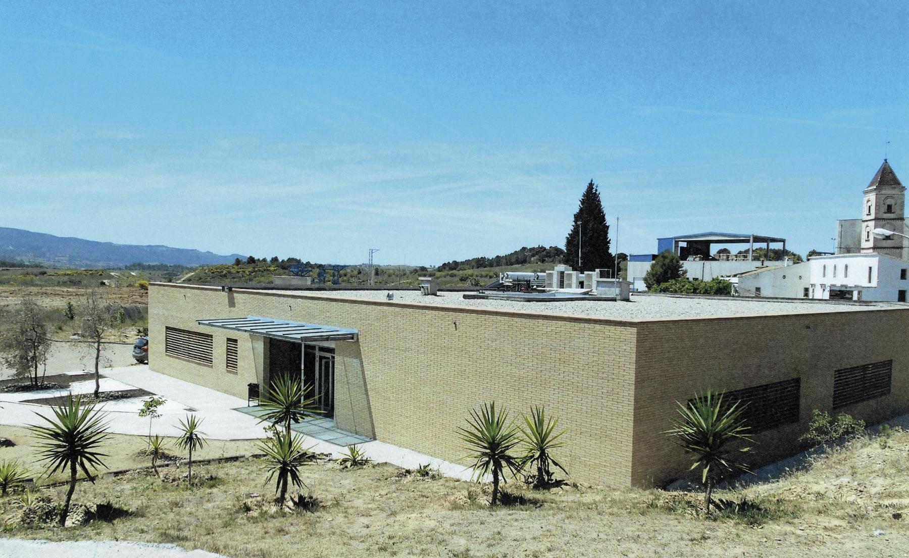 Exterior Centro Técnico Sant Esteve Sesrovires