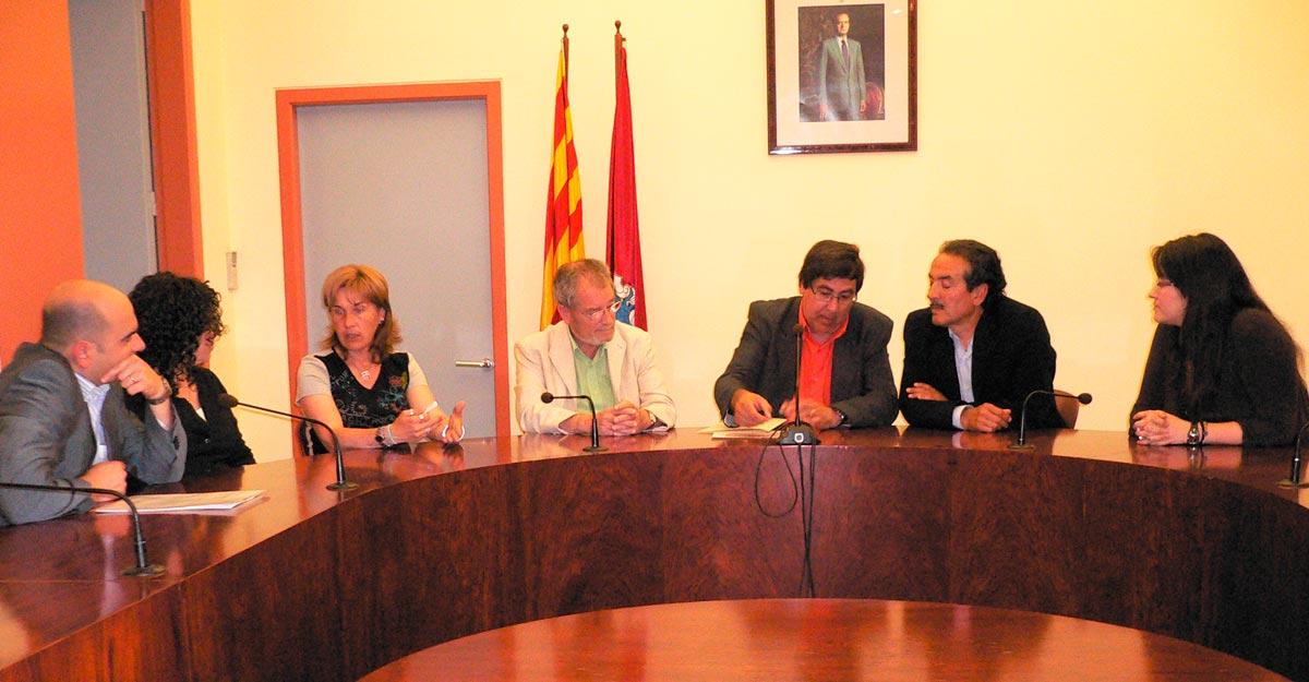 Firma de la constitución de la Fundación Privada Jaume Balmes