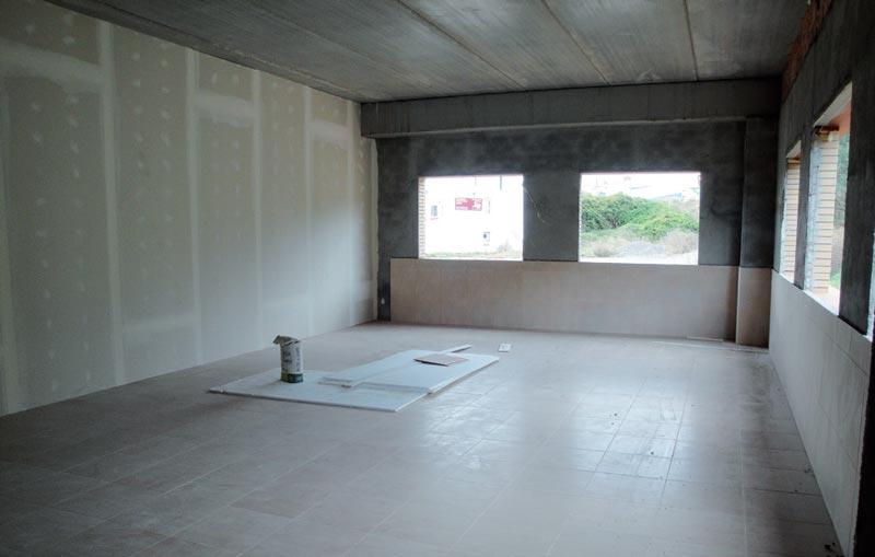 Interior del edifico de la Fundació Privada Jaume Balmes en construcción
