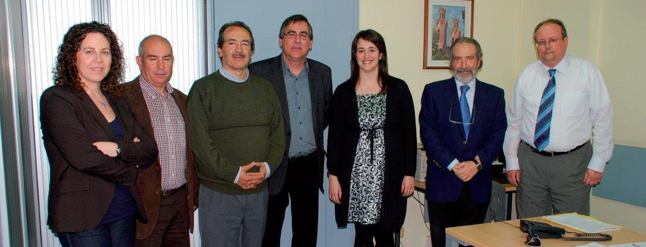 Representants de l'Ajuntament de Sant Esteve Sesrovires i de la Fundació Privada Jaume Balmes