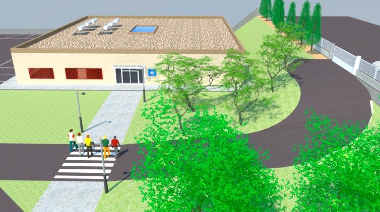 Recreació del Centre Tècnic Fundació Jaume Balmes a Sant Esteve Sesrovires