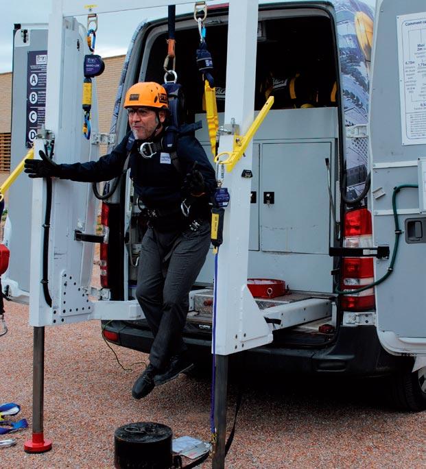 Curso de seguridad en espacios confinados en el Centro Técnico de Sant Esteve Sesrovires