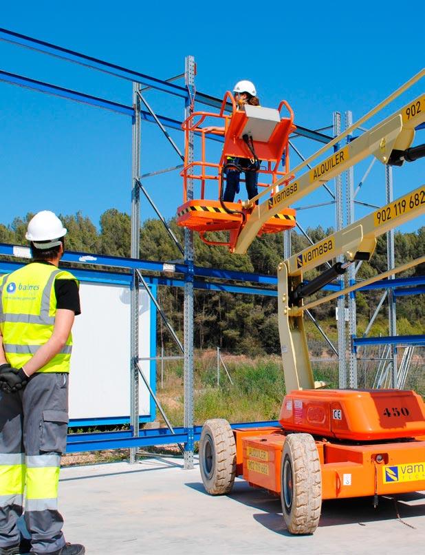 Curso de plataformas elevadoras en el Centro Técnico de Sant Esteve Sesrovires